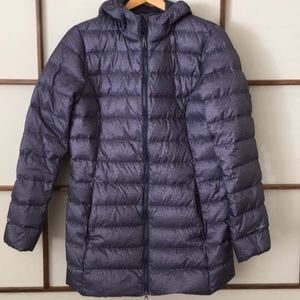 Eddie Bauer packable down winter coat medium